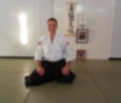 Ray Brown Sensei Head Coach Torbay Aikido and Ronindo Budokai teching Aikido in Torquay