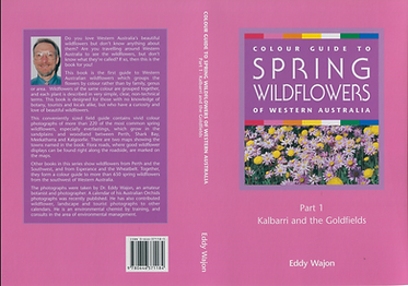 Front and back cover to Colour Guide to Spring Wildflowers of Western Australia