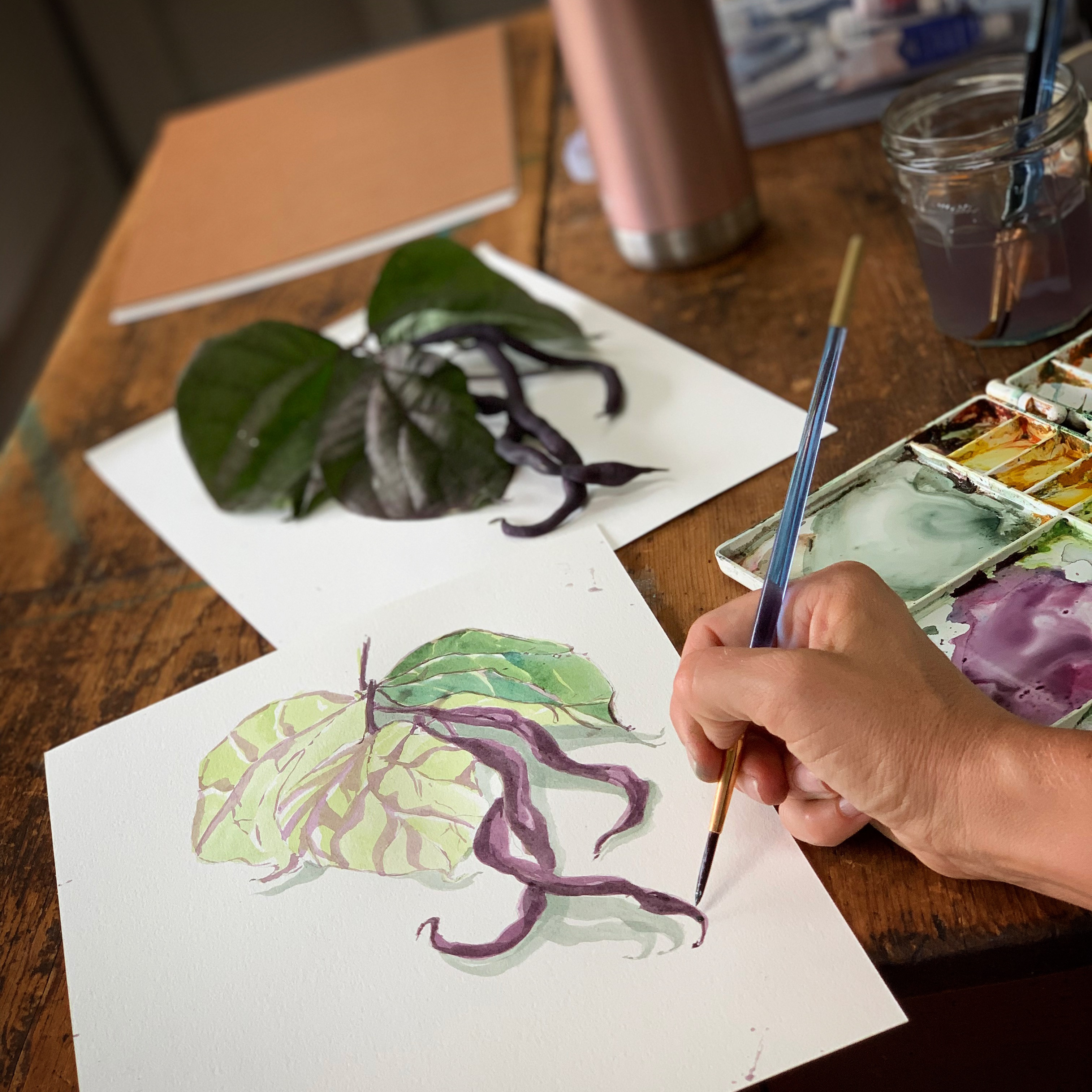 Watercolor Wednesday (Adult lesson)