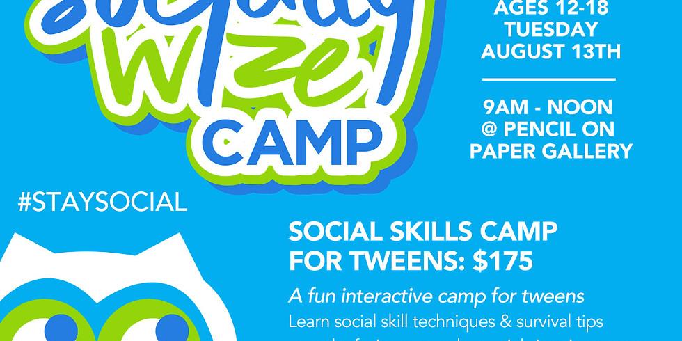 Camp SociallyWize (Single Day Registration)