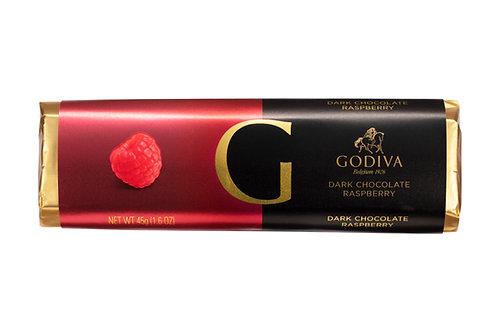 Godiva Bâton Chocolat Noir Framboise, 45 g