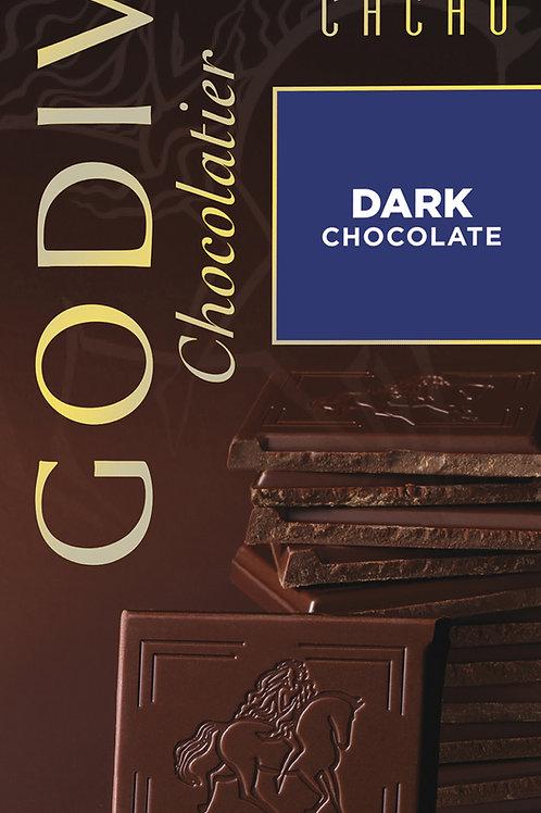 Godiva Tablette Chocolat Noir 85%, 100 g