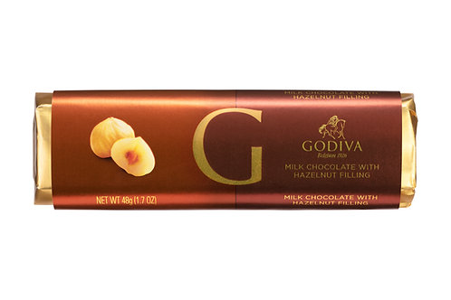 Godiva Bâton Chocolat Au Lait Praliné Nougatine, 48 g