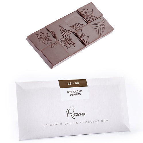 Tablette 88% cacao 45g