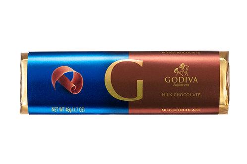 Godiva Bâton Chocolat Au Lait, 49 g