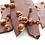 Thumbnail: Bouquet de Chocolats® 100% Lait 270g + carré personnalisé