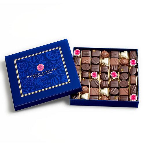 Coffret Marquise De Sévigné Paris - De 9 à 49 chocolats
