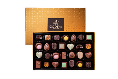 Godiva Boîte Cadeau Gold Discovery, 6/ 28 chocolats