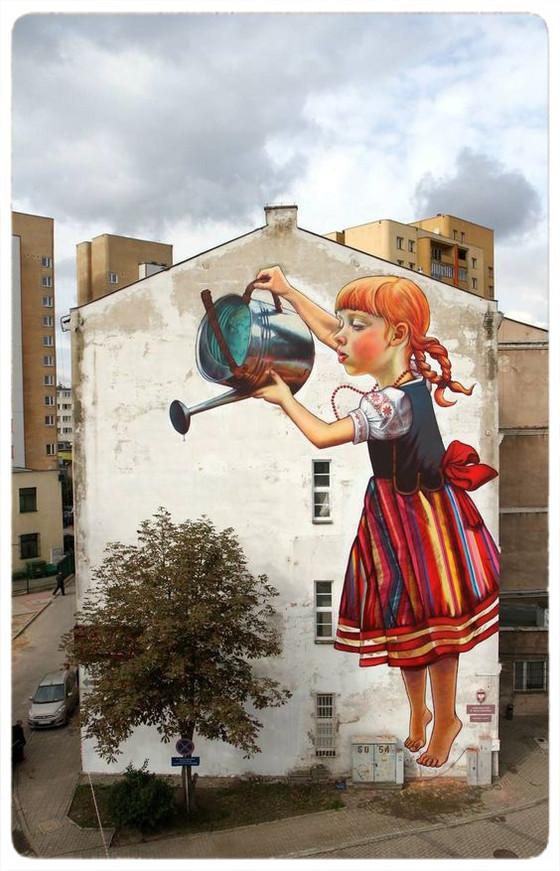 Graffiti Meets Nature