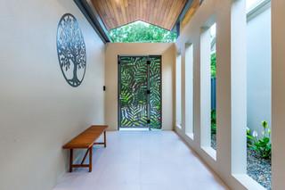 Secure front porch entrance