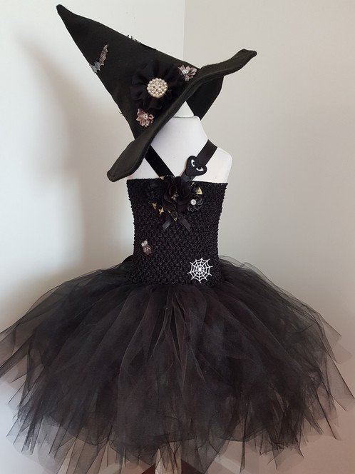Witch Tutu Dress 3 to 5 year old