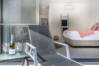 Enjoy time out on the Master bedroom balcony