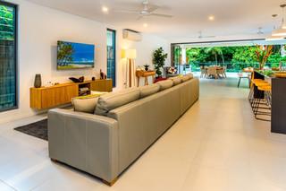 Large open plan loungeroom