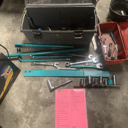 Wrecking Yard Tools for Differential/Axle Removal