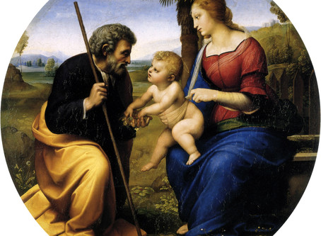 The Holy Family of Jesus, Mary, and Joseph