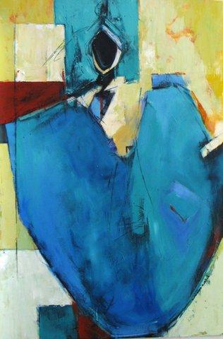 Blue Woman as Vessel  I