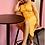 Thumbnail: Yellow Custard Tank Dress - M