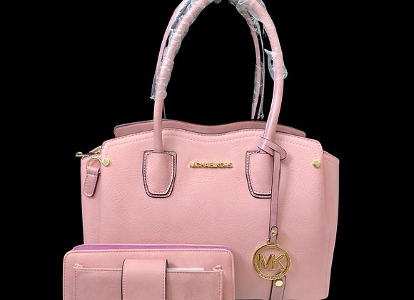 MK Handbag Set - Pink