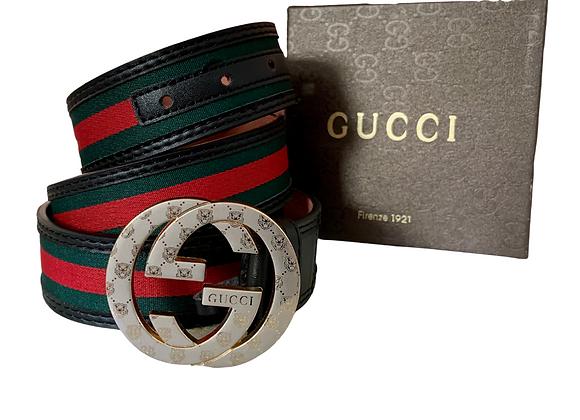 Gucci Belt - Red/Green