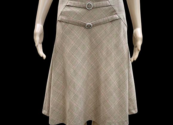 Anthropologie Glen Plaid Skirt - Size 6