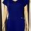 Thumbnail: Royal Blue Mini Dress - L