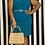 Thumbnail: Turquoise Calvin Klein Dress - Sz 14