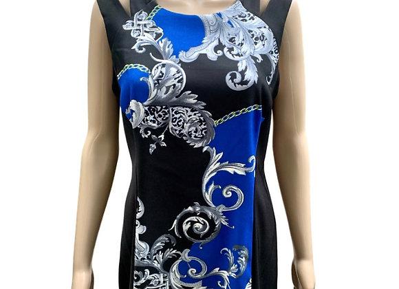 Bleu Royale Sheath Dress - Sz 10