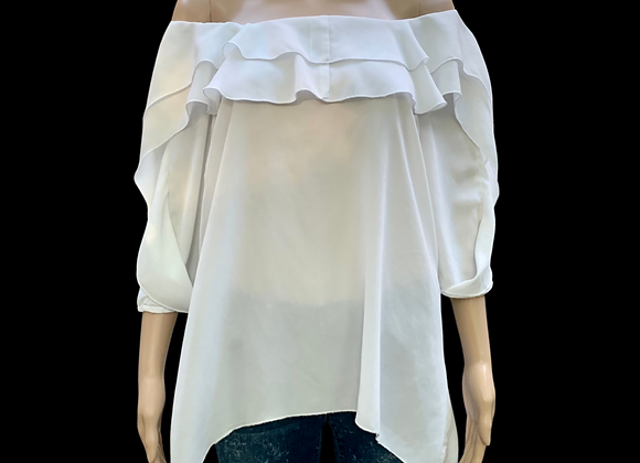 Breezy Tunic Blanc - XL