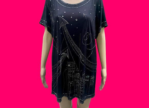 Jimmy Choo Beaded Shirt Dress - S