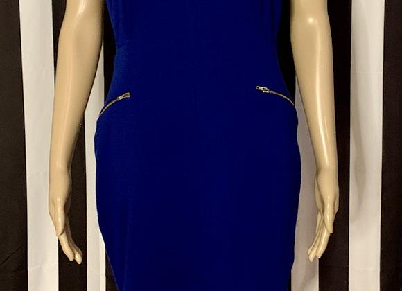 Royal Blue Mini Dress - L
