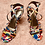 Thumbnail:  Colorful Strappy Heels - Sz 8
