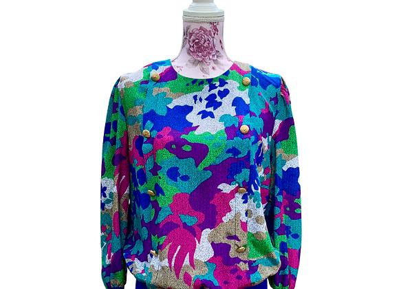 Vintage Leslie Fay Sweater - Sz 14W