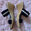 Thumbnail: Italian Shoemakers Wedge Sandal - Sz 7.5