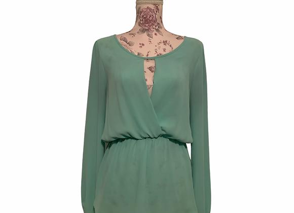 Turquoise Delight Blouse - L