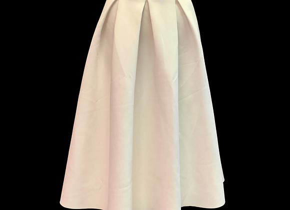 Midi au Blanc Skirt - S