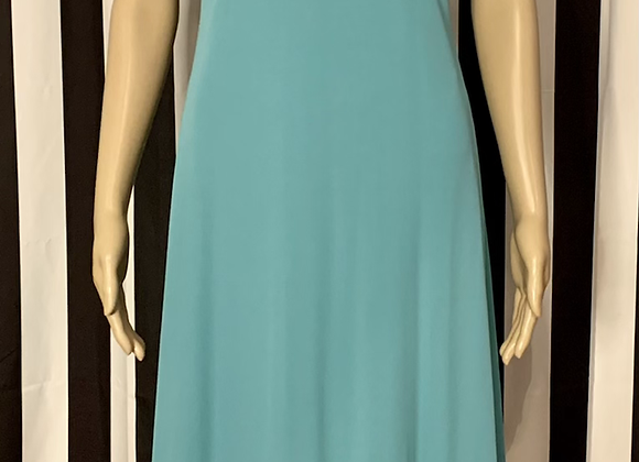 Zara Collection Turquoise Dress - L