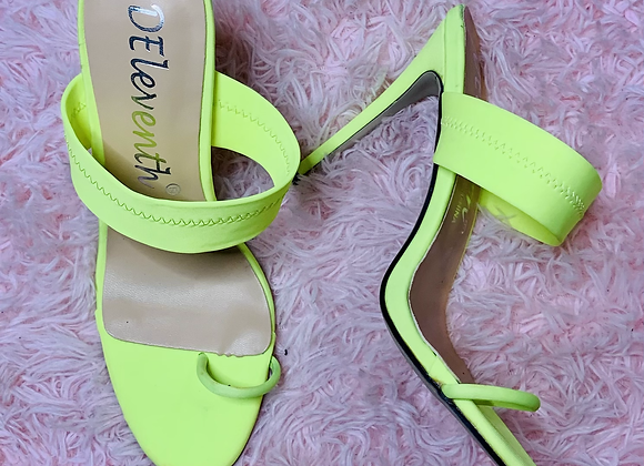 Into The Limelight Heels - 8.5/9