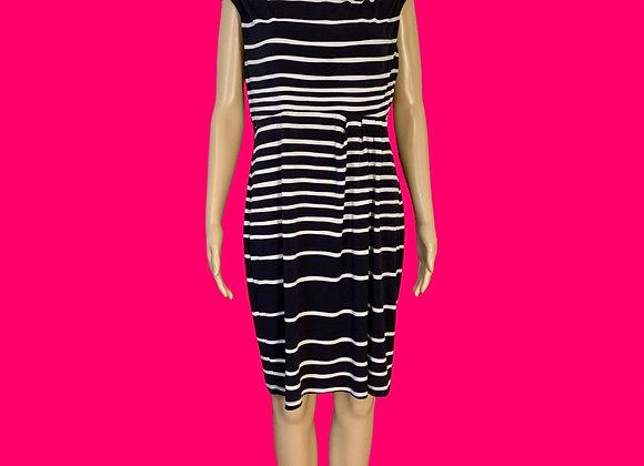 Striped and Stretchy Dress - Sz 12