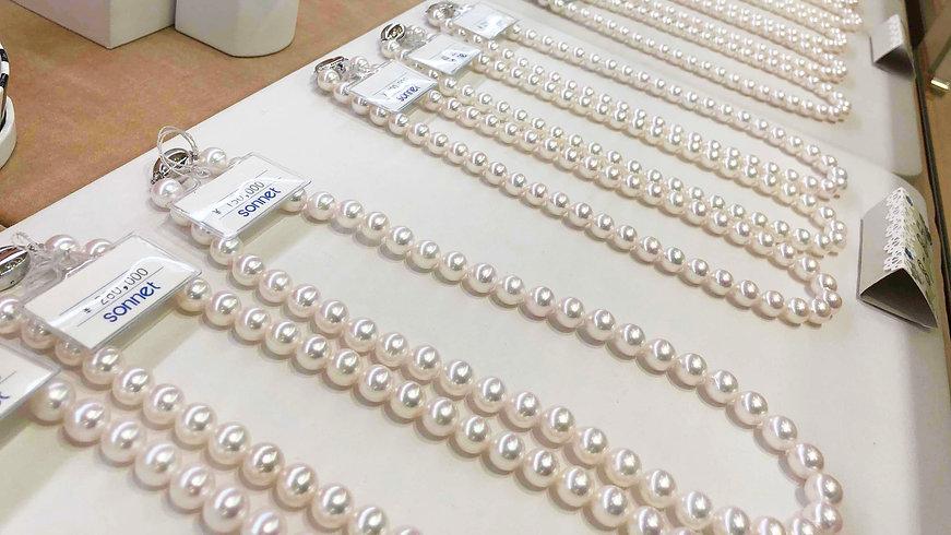 真珠・パールのネックレス