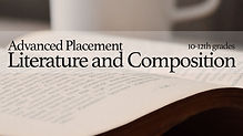 AP Literature and Composition course