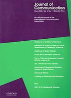 Journal of Communication cover