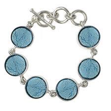 Gabriella Nanni Sterling Silver Round Bracelet Turchese