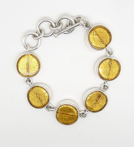 Gabriella Nanni Sterling Silver Round Bracelet Oro