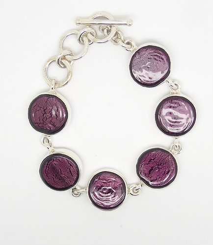 Gabriella Nanni Sterling Silver Round Bracelet Melanzana
