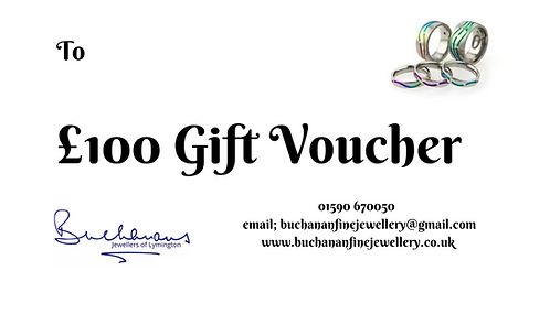 Buchanans Gift Voucher £100
