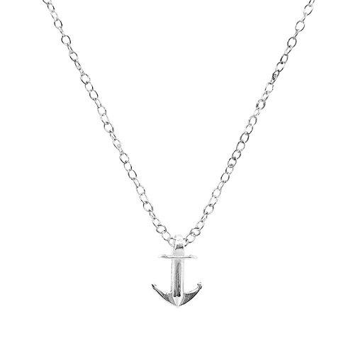 Anchor&Crew - Drop Anchor Buoy Silver Necklace Pendant