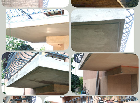 Réfection de balcon