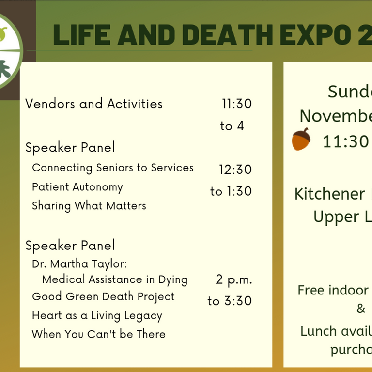 Life and Death Expo