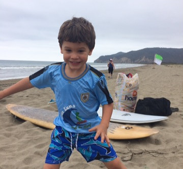 Is surfing good for children?