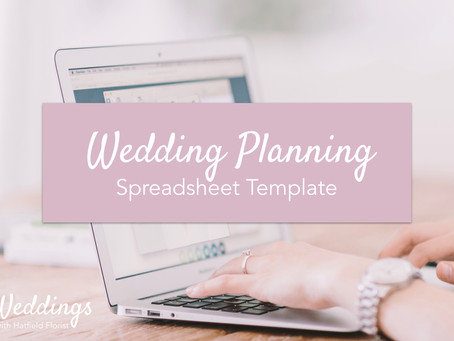 An Editable Wedding Planning Spreadsheet Template